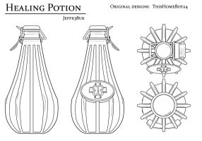 Overmare Studios: Health Potion Concept by Jeffk38uk