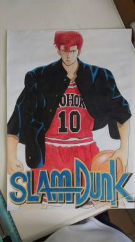 -pedido slam dunk- by Okaruu