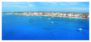 Cozumel Panoramic by manticor