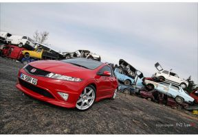 FN2 Honda Civic Type-R - 2 by rugzoo