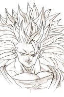 GOKU by TOMAHAWK-DRAGON