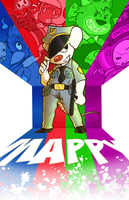 Mappy by GeekyKitten64