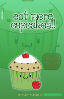 Cupcake notebook cover by sayuri-hime-7