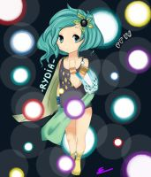 Little Rydia FF IV by UltimChaos