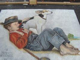 Napping by AmazingStreetPaint