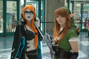 Midna and Link - The Legend Of Zelda by Garivel