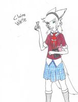 Claire White by BoredOutOfMyMindStud