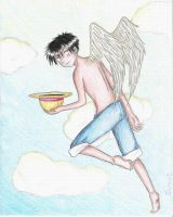 Luffy Angel by dichana