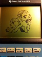 Graphing Calculator Ponies - Rarity by alxg833