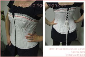 historical corset - 1890s by kairi-g