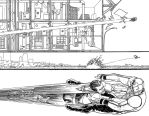 Superman #20 pages 8 and 9 by AaronKuder