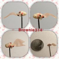 Polymer clay Koi fish by Brownie314