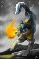 I set fire to the rain... by wolfinrahalify