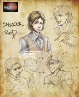 Criminal Minds- Spencer Reid by koulin