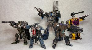 Custom Combaticons by mangrasshopper