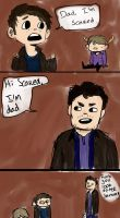 John Winchester And The Dad Jokes by wayward-cassbutt