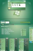 Green7 theme for win7 by nguyenxuanhoa