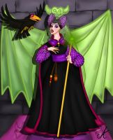 Historic Maleficent by aniek90