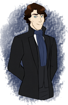 Request - Benedict Cumberbatch by P3numbr4