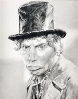 Harpo Marx by johndibiase