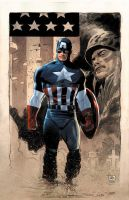 Captain America, LeeWeeks and Colwell by JeremyColwell