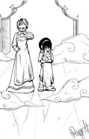 A dream with Toph by LadyProphet