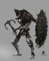 20140911 creature warrior villain by psdeluxe