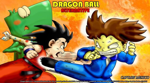 DragonBall Alter by CaptainMexico