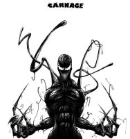 Carnage by halcyondf