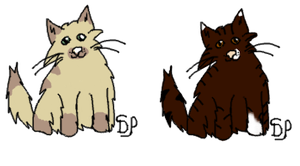 Cat adoptables by DarkParadise24