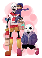Shopping Tour   Undertale by PikaIsCool