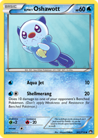 TheAlphaRanger Fake Cards: Alpha's Oshawott by TheAlphaRanger