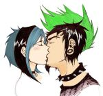 dxg kiss - Colored by cococheese