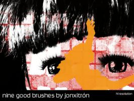Nine Great Brush in Hi Res by jonxitron