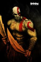 God of War by DoomCMYK