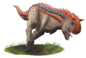 Primal Carnage: Carnotaurus by T-Reqs