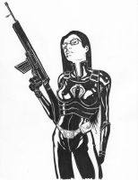 GI Joe: Baroness Inks by Templesmith