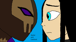Skyler And Cardinal Gift Pic by Natalia-Clark