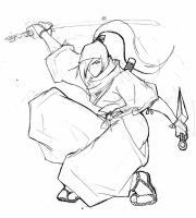 Shinobi Challenge rough Kuno by roadkillblues