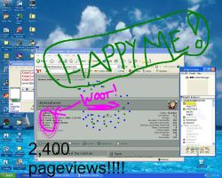 2400 pageviews by hutsonlover