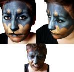 Doberman Facepainting by dreamliquor