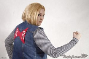 Cosplay Android 18 by AndroideDezoito