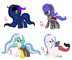 Mlp shipped adopts [CLOSED] by Starleay120