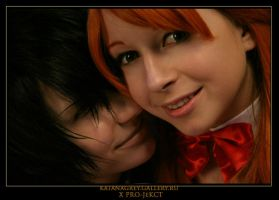 Lelouch,Shirley:smile together by KoujiAlone