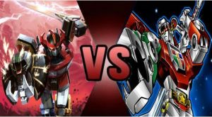 Megazord vs Voltron by FEVG620