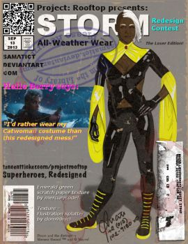 Project: Rooftop - Storm, All-Weather Wear by samatict