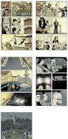 Comic Sample pages by Walter-Ostlie