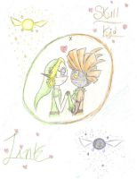 Link x Skull Kid - Request by Ppeacht