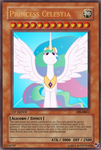 Princess Celestia YGO Card by Alexstrazse