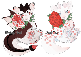 Vday Plush Dragon Auction 1 (CLOSED) by stormcat